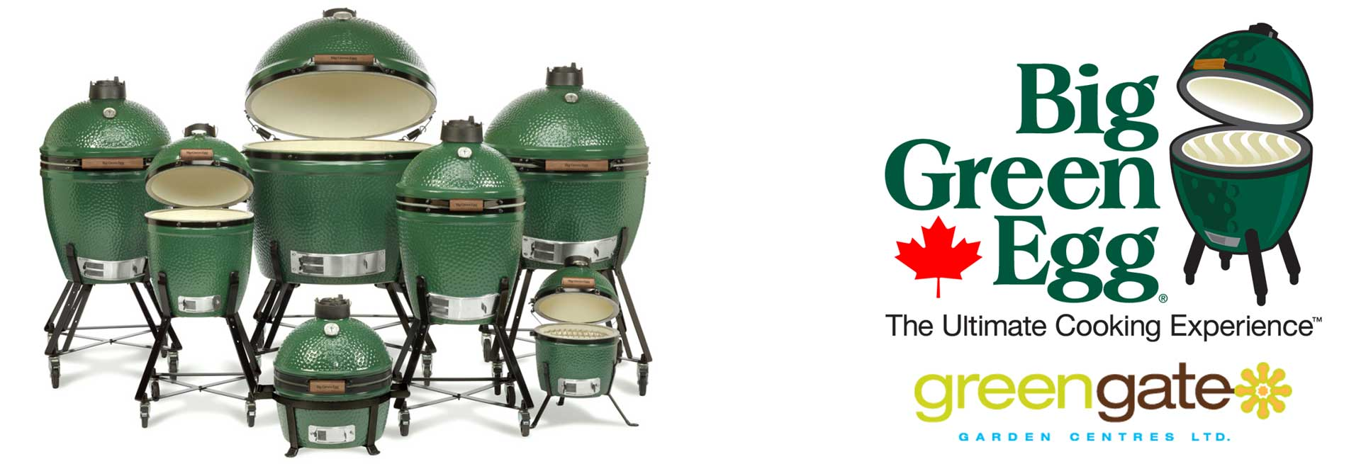 Big Green Egg BBQ's at greengate