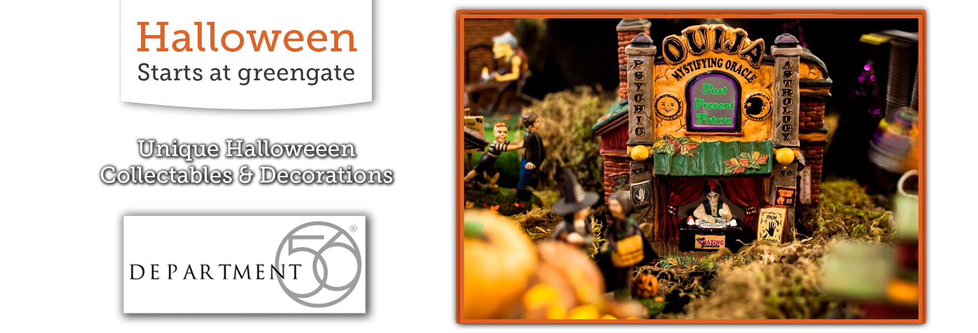 greengate's D56 Halloween decor is in store