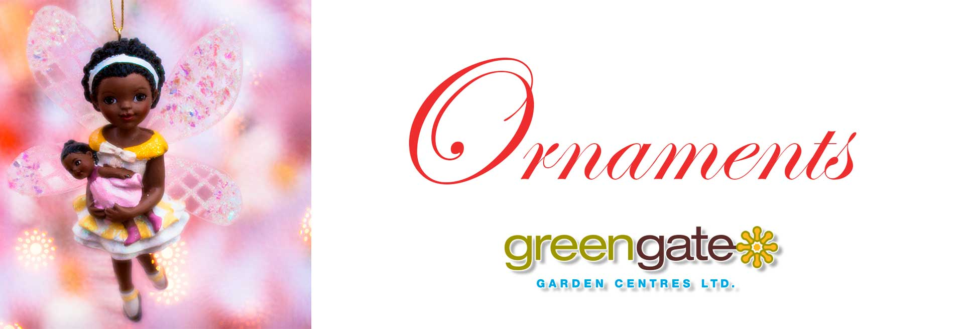 Christmas Ornanaments at greengate