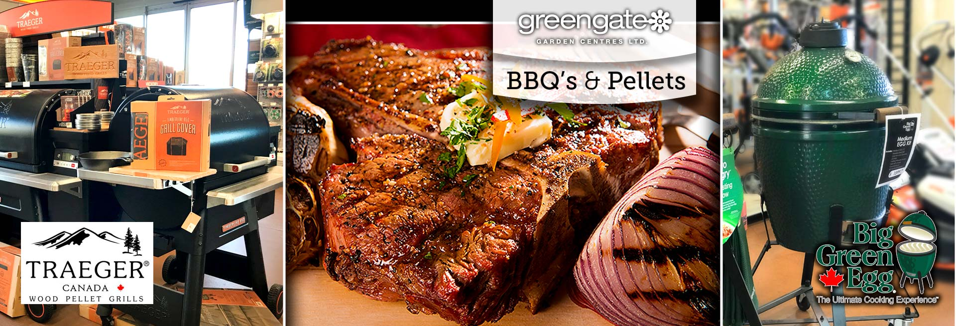Pellet BBQ's at greengate
