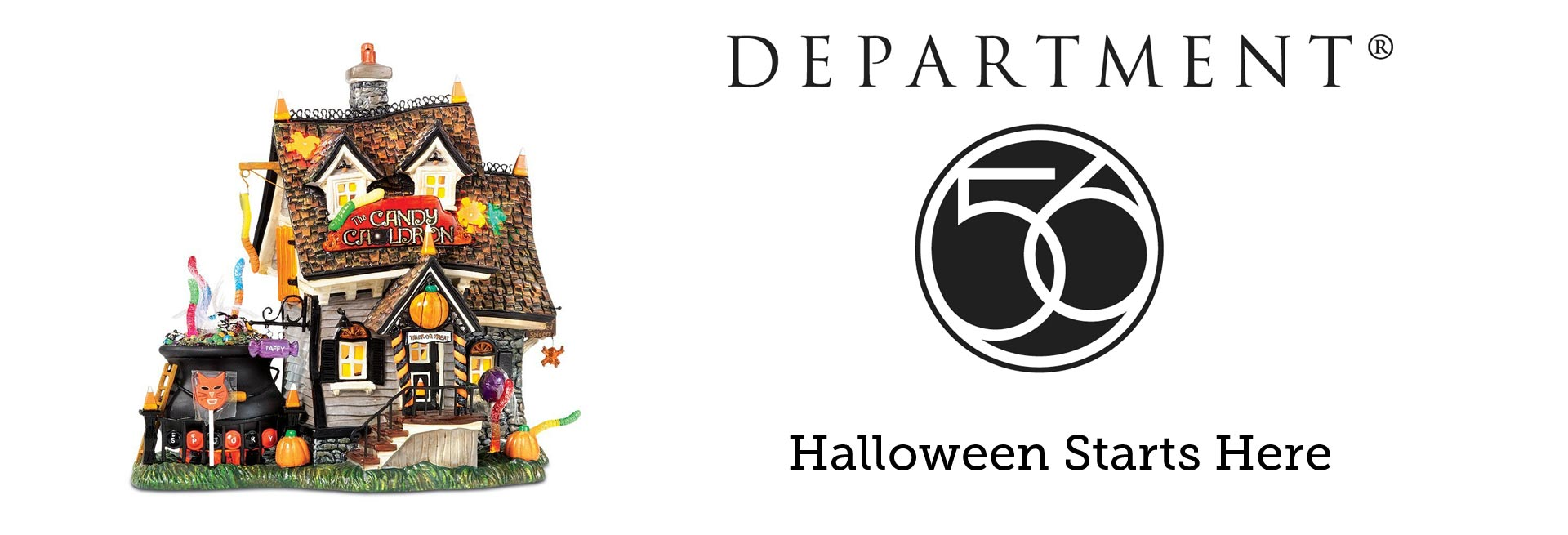 Department 56 Halloween Decor