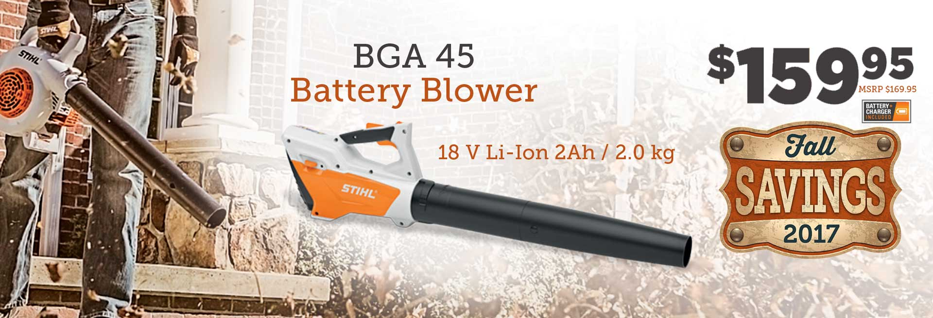 STIHL Fall Leaf Blower Sale at greengate