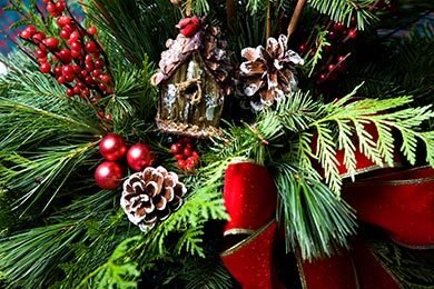 Christmas boughs at Greengate Garden Centres