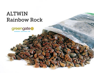 Altwin Rainbow Bagged Landscaping Rock