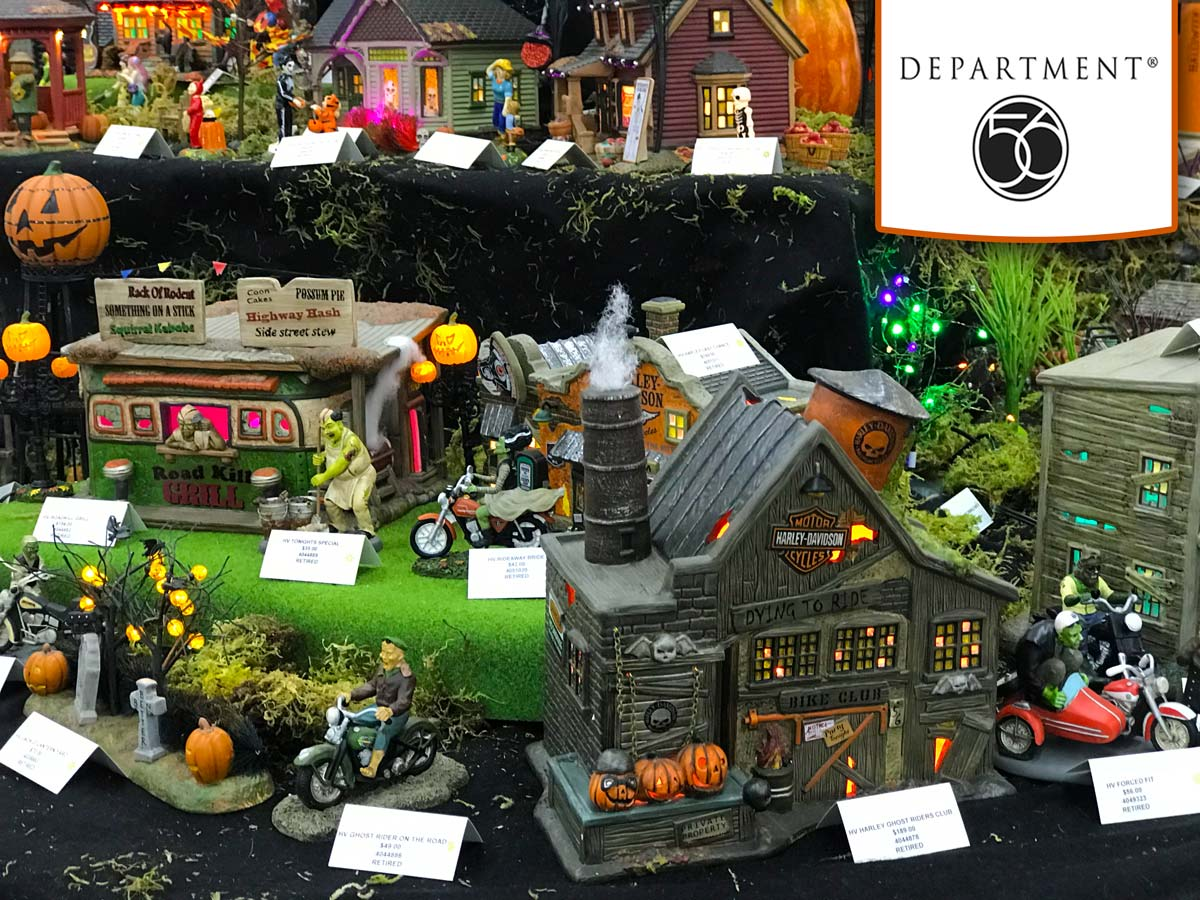 Department 56 Halloween Decoration Collectibles