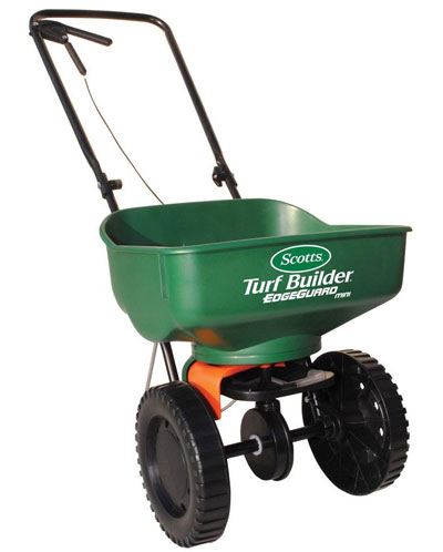 Lawn fertilizer spreader