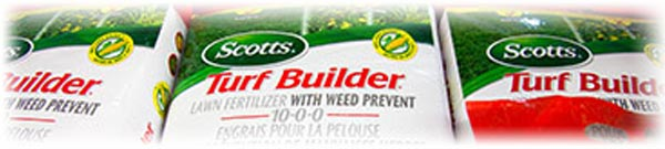 Scott's Turf Builder fertilizer
