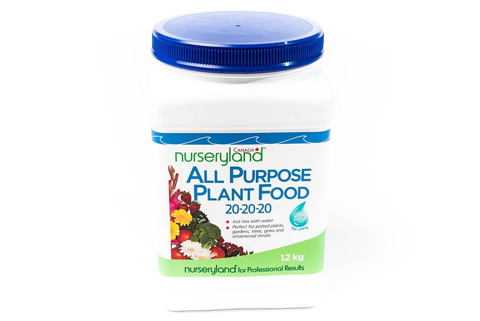 All Purpose Plant Food 20-20-20