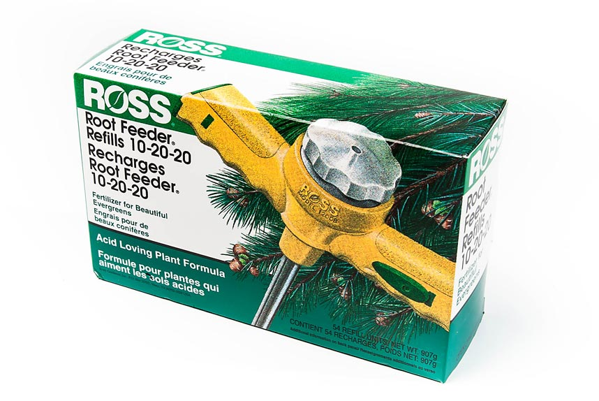 Root Feeder Refills Evergreens 54 Pack 10-20-20
