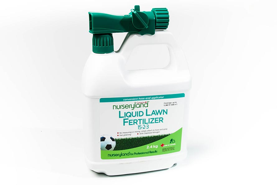 Liquid Lawn Fertilizer 15-2-3