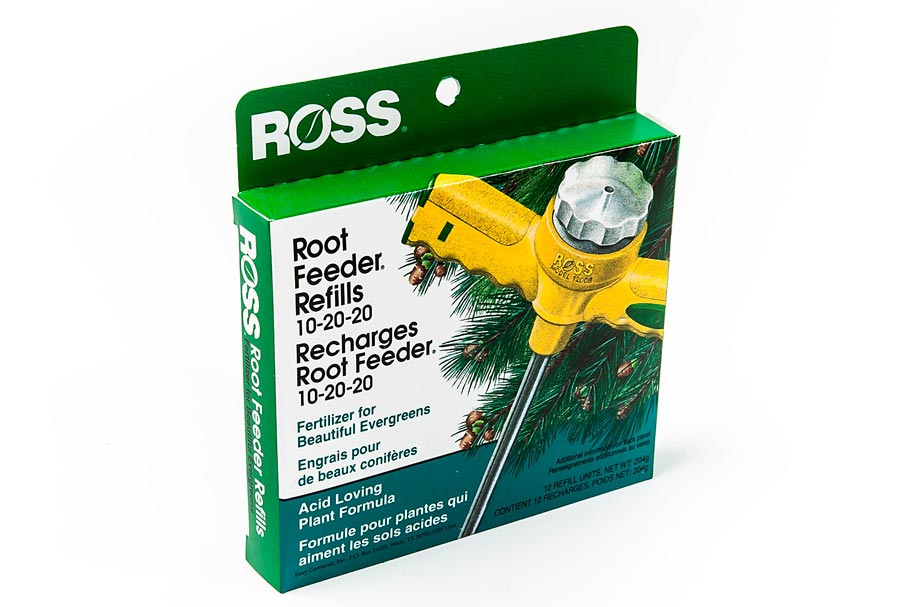Root Feeder Refills Evergreens 12 Pack 10-20-20