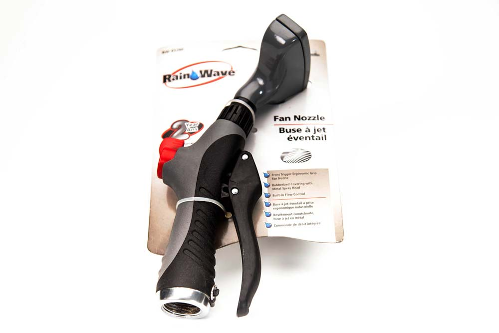 Front Trigger Ergonomic Grip Fan Nozzle