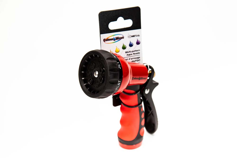 Multi-Pattern Aqua Nozzle Red