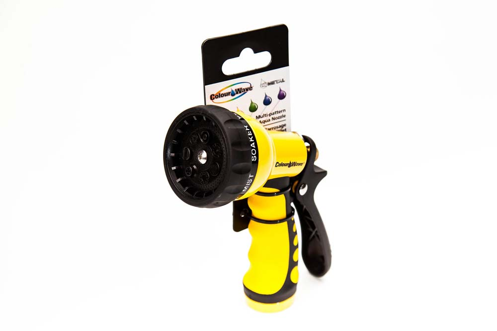 Multi-Pattern Aqua Nozzle Yellow
