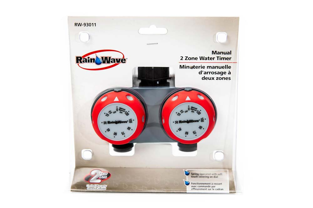 Manual 2 Zone Water Timer
