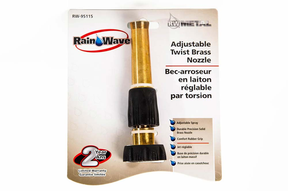 Adjustable Twist Brass Nozzle